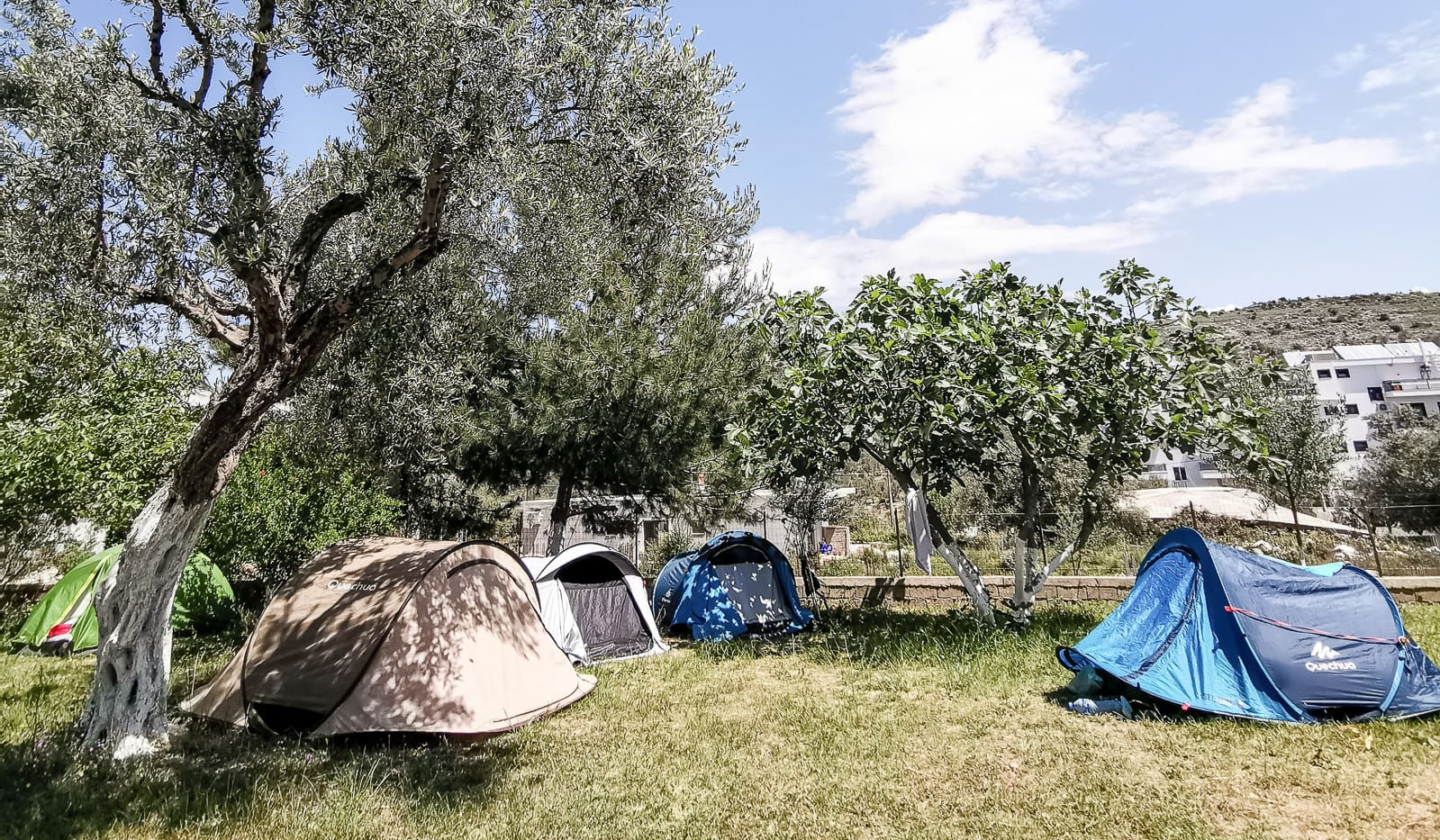Albania z namiotem, Gaci's Camping