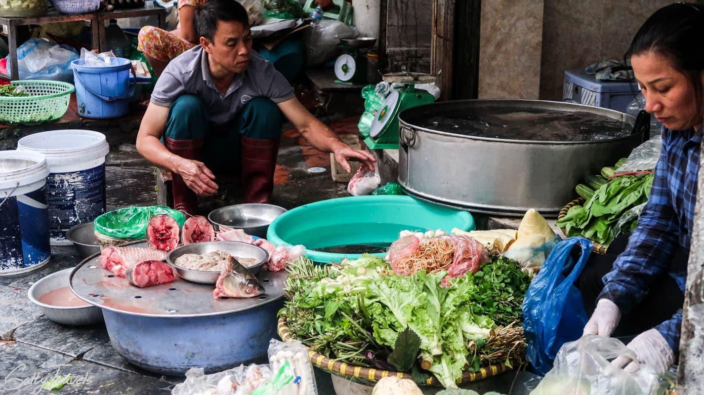 Jedzenie w Hanoi., Salty Travels