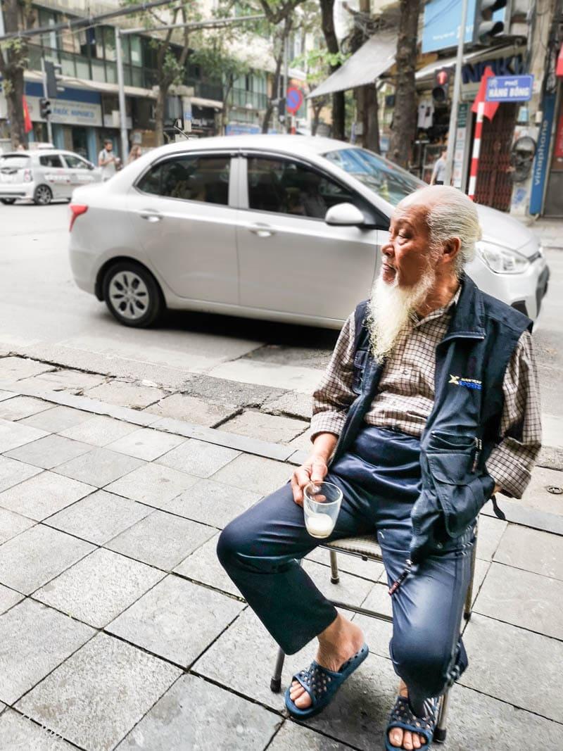 Ulice Hanoi, Wietnam