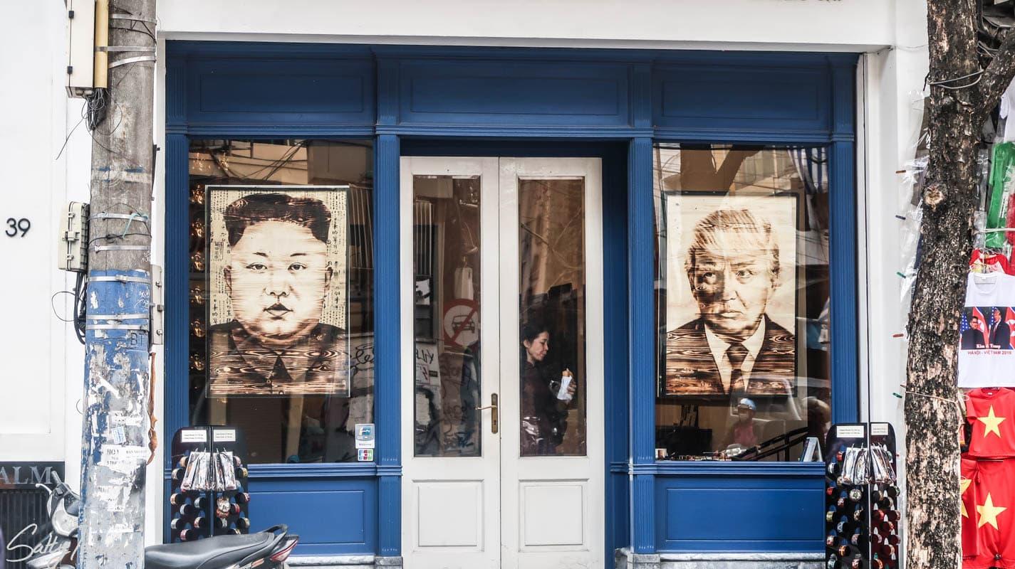 Hanoi, Trump i Kim Dzong Un
