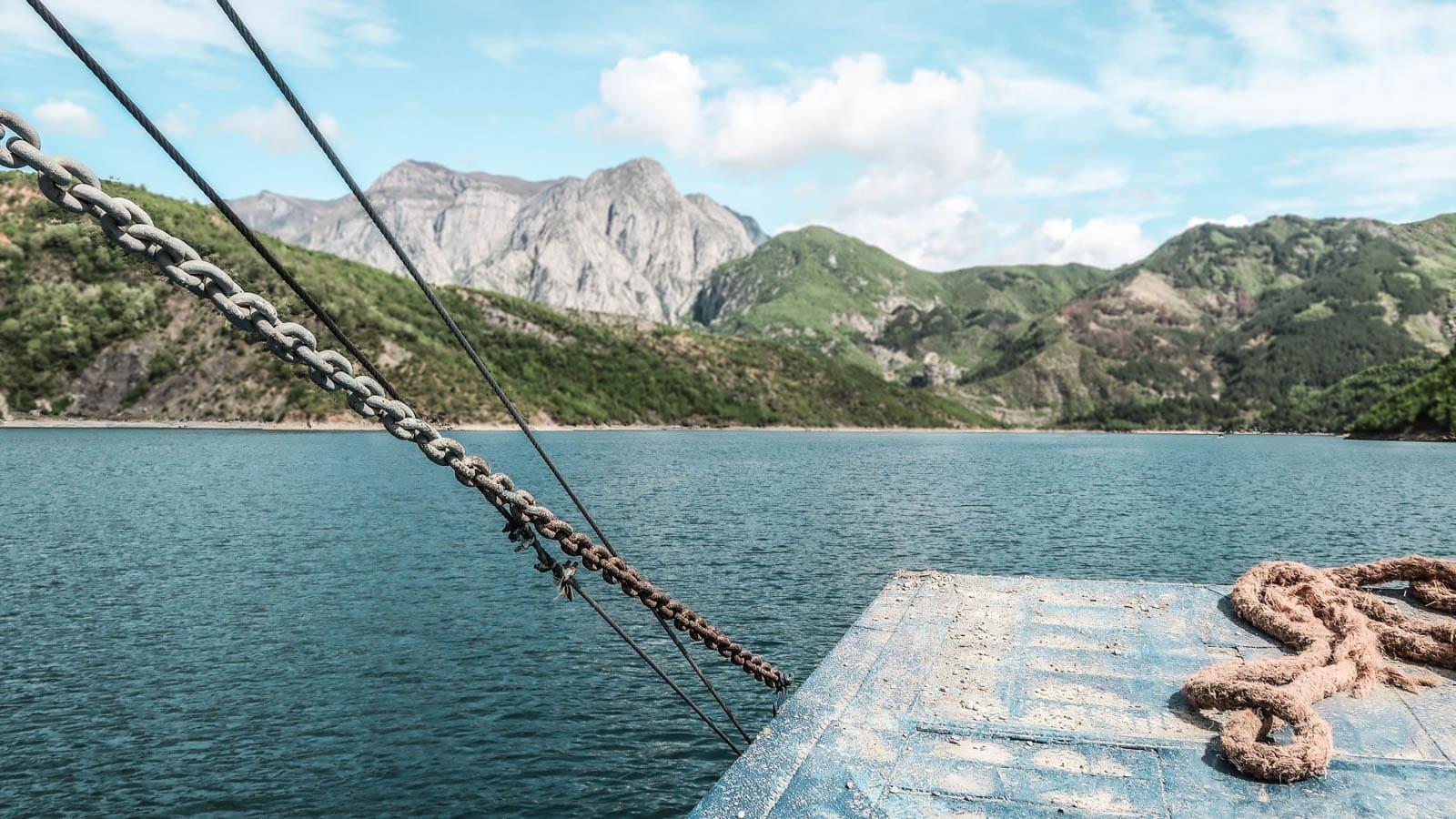 komani lake diy albania