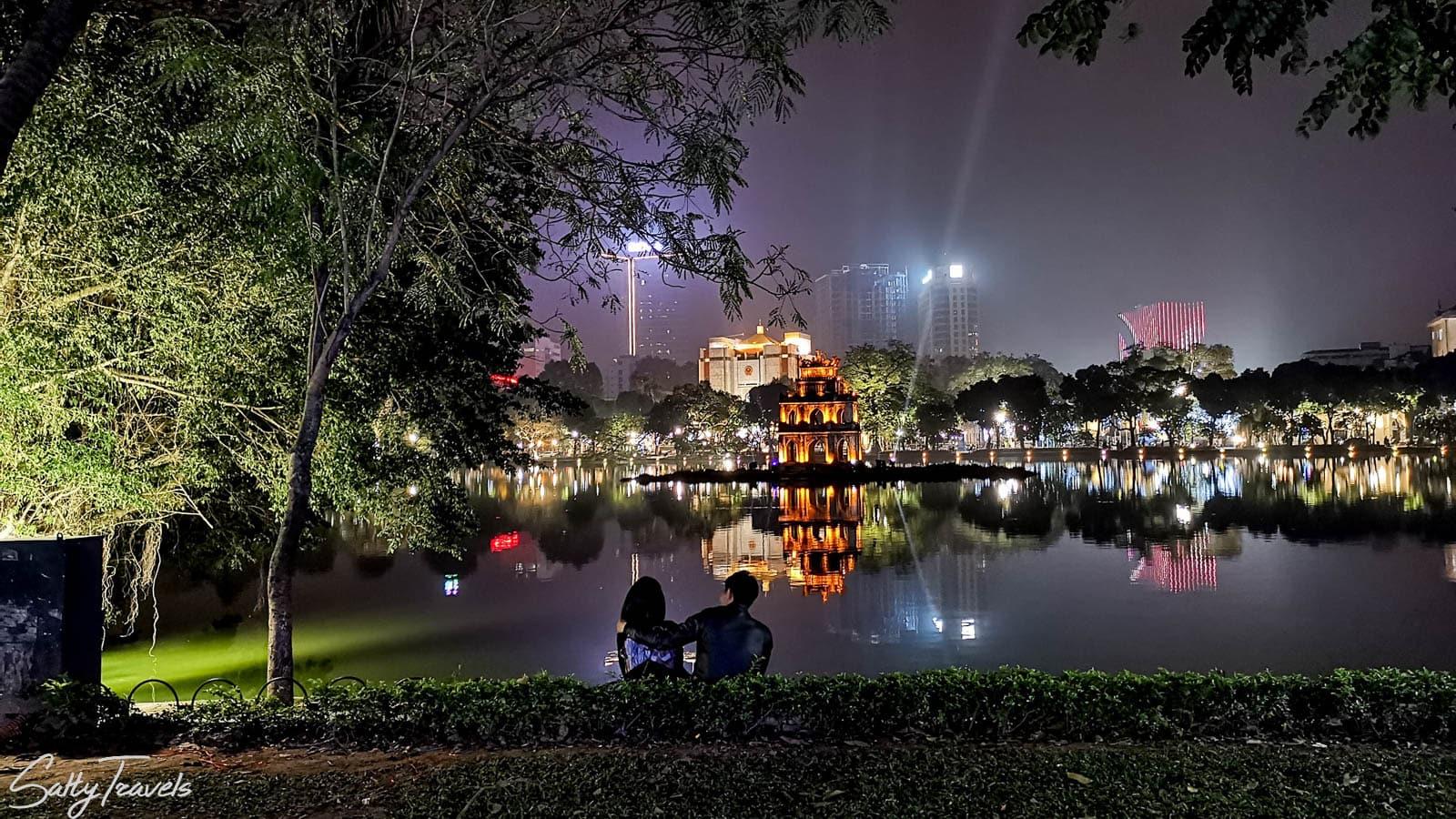night bus from Vientiane to Hanoi