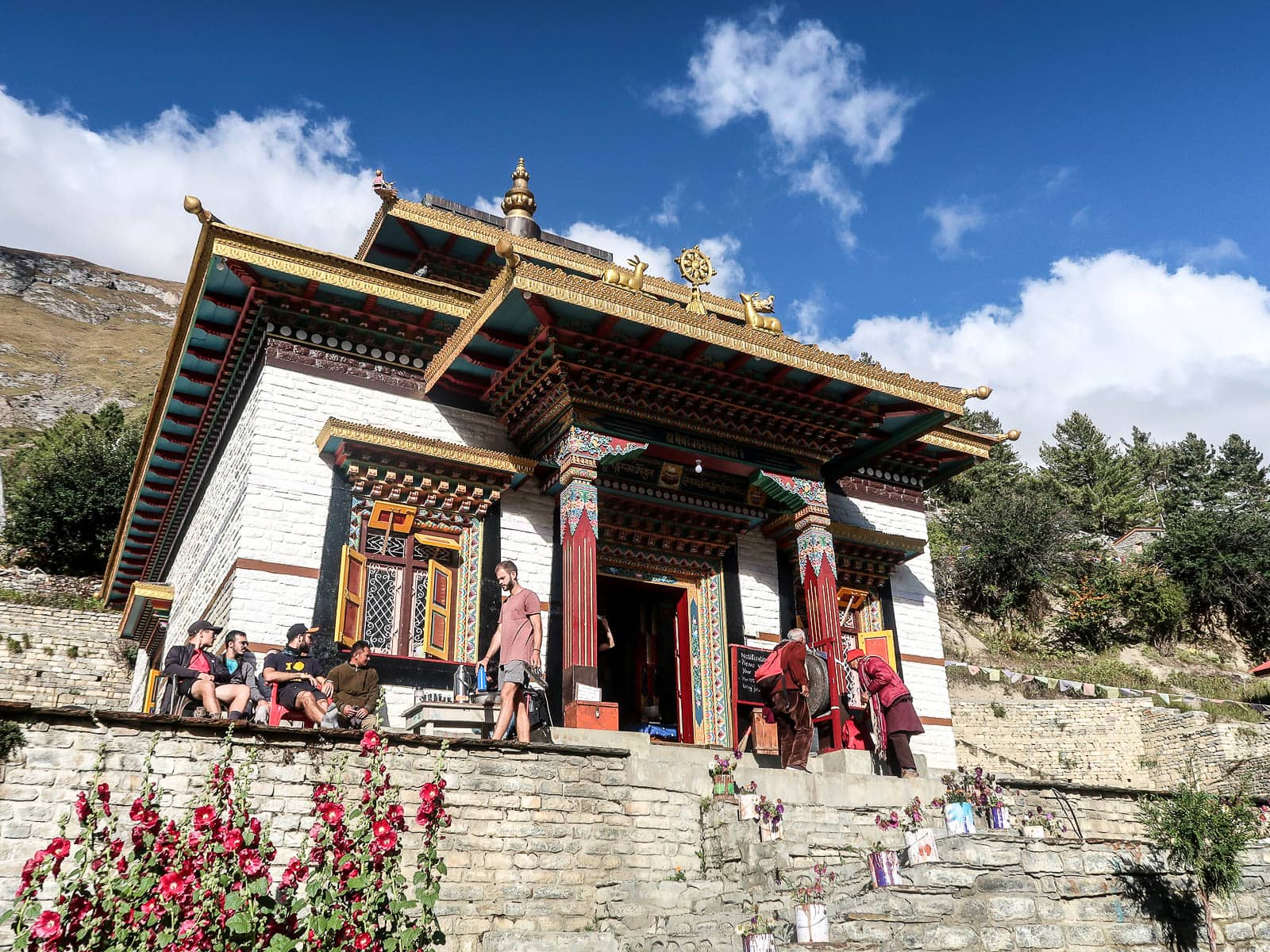 Klasztor w Upper Pisang