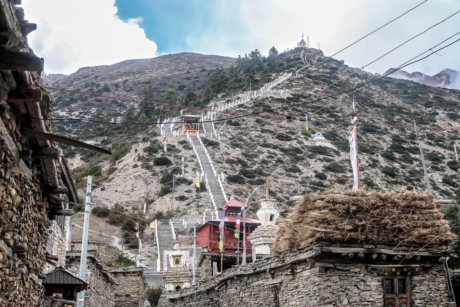 stupa Ngawal Nepal