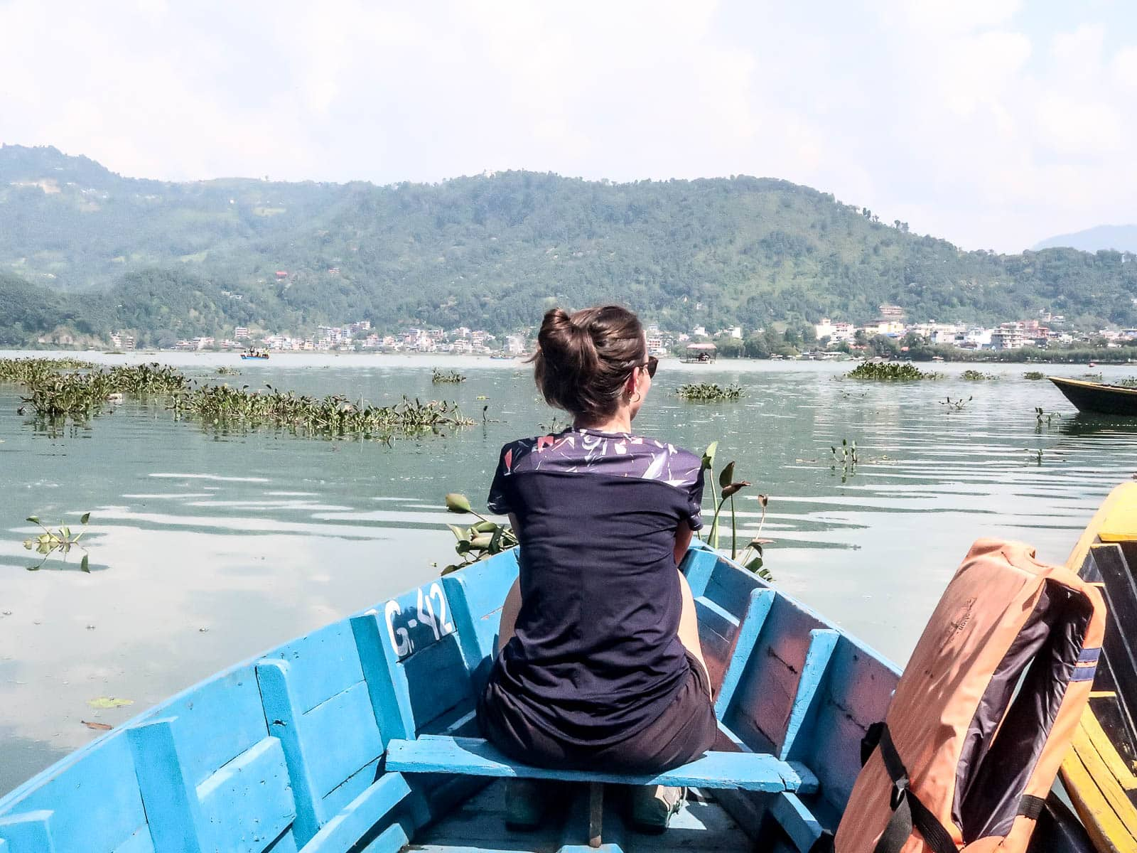 Jezioro Phewa, Pokhara, Nepal