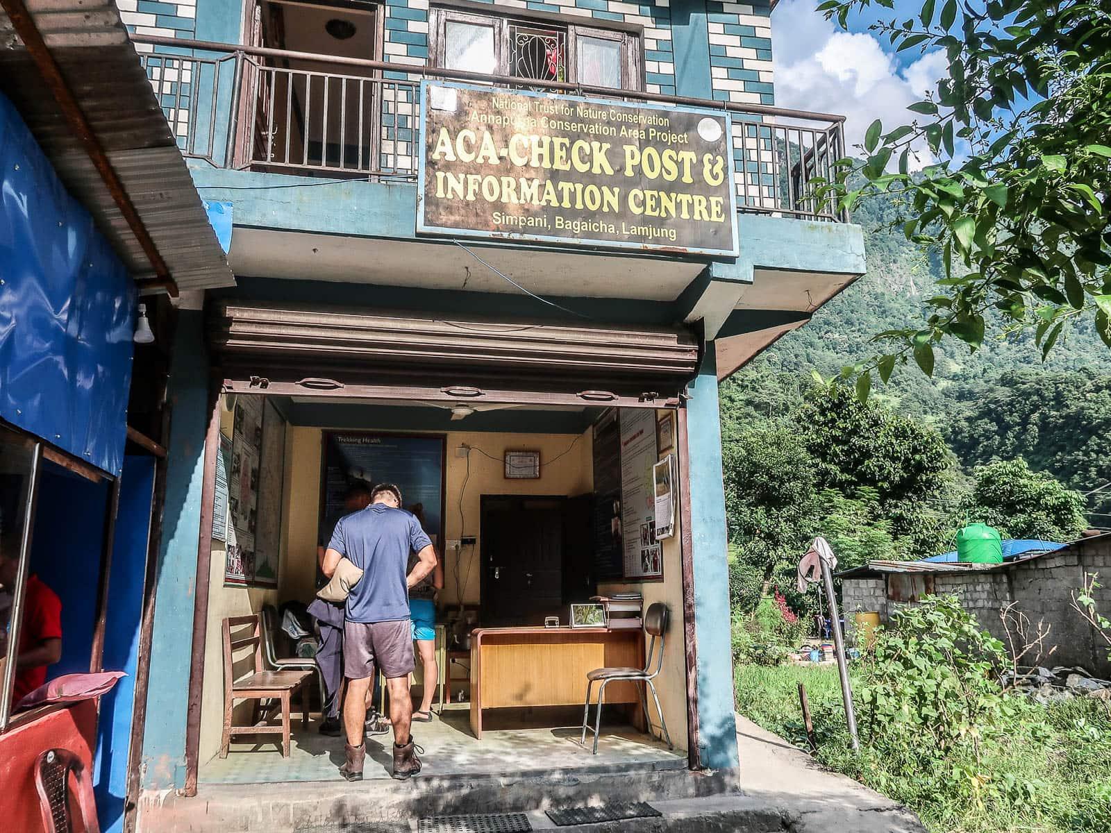 Annapurna Circuit Check point