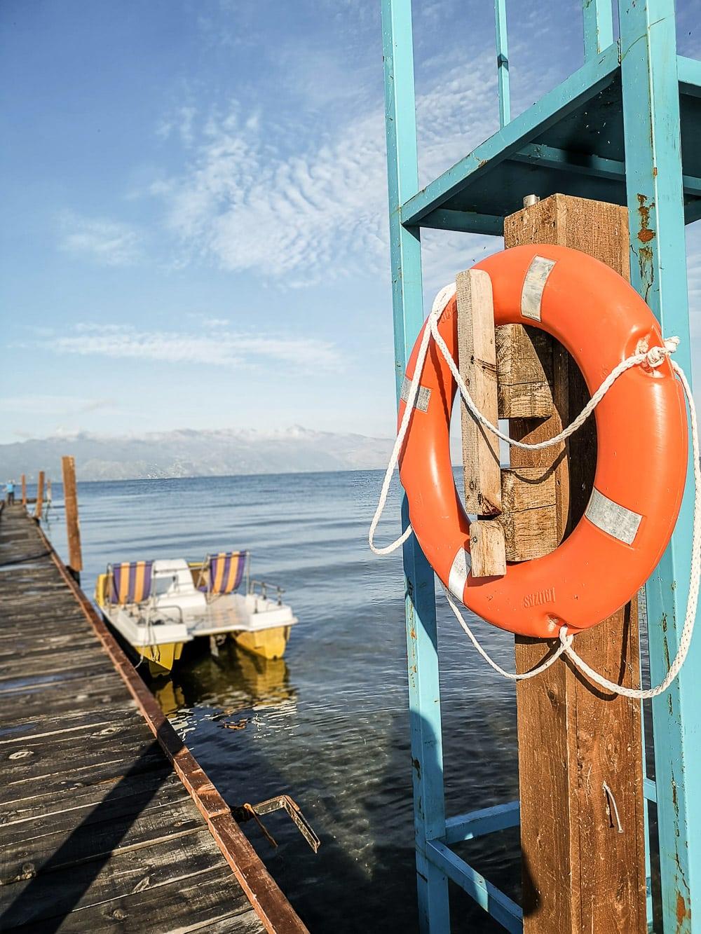 Albania z namiotem, Lake Shkodra Resort