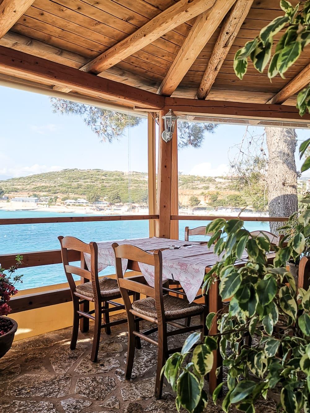 Guvat Bar Restorant, Ksamil, Albania