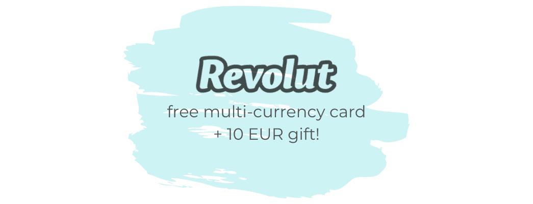 free revolut card 10eur gratis
