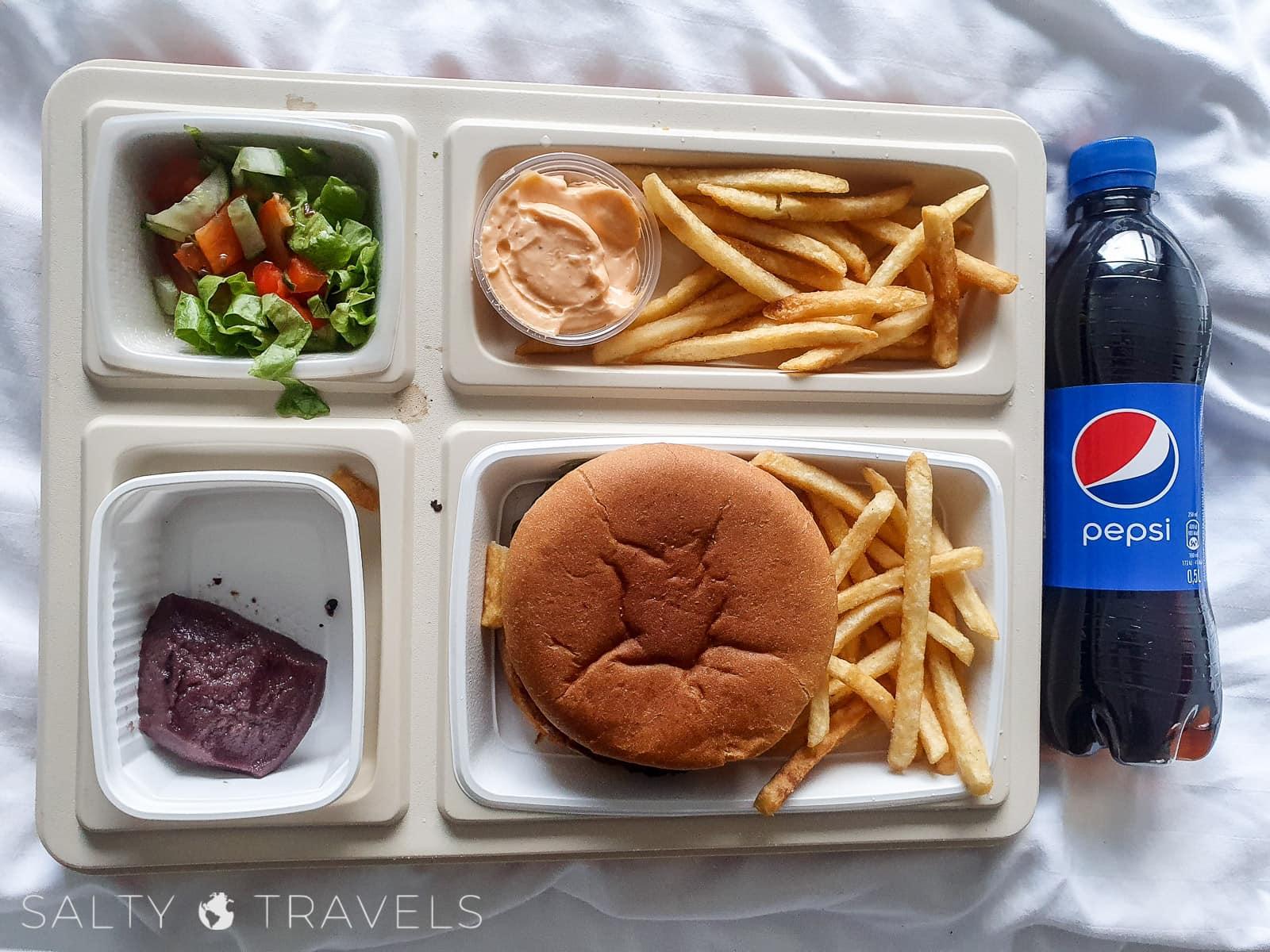 izolacja na islandii jedzenie