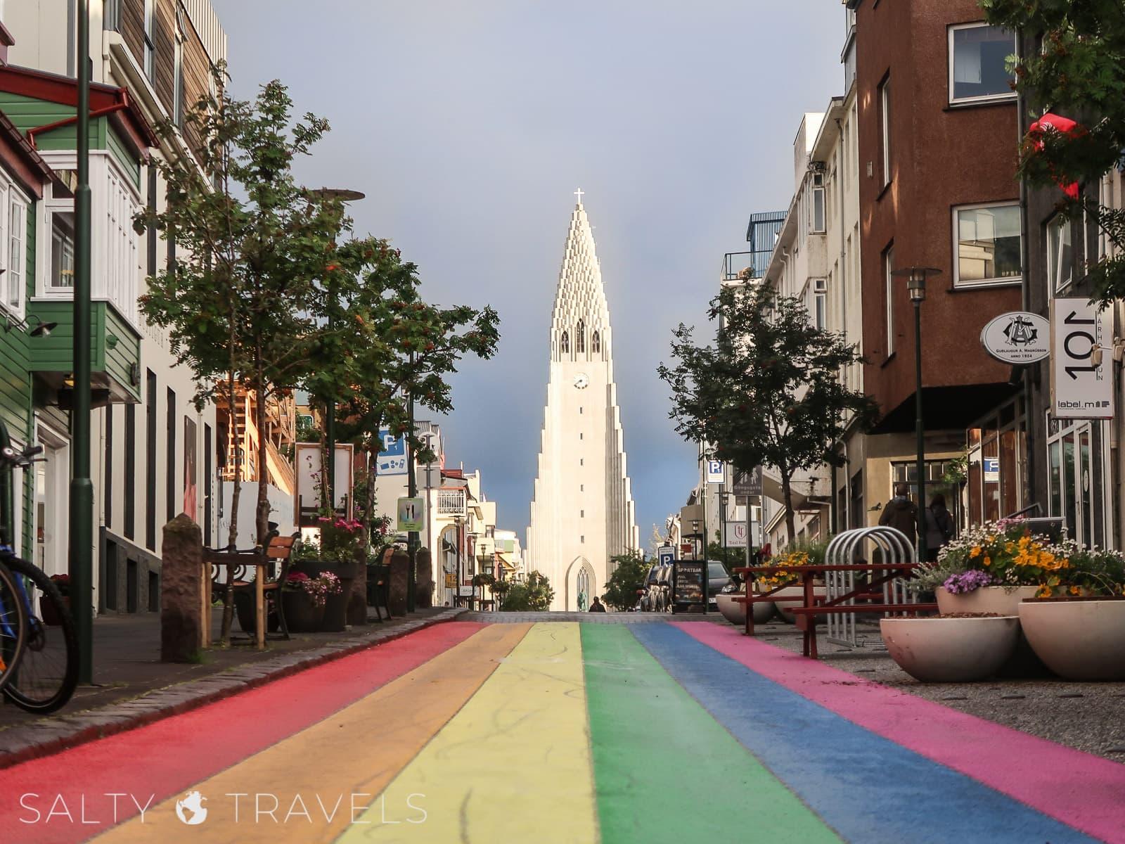 kwarantanna w Reykjaviku - kościół HALLGRIMSKIRKJA