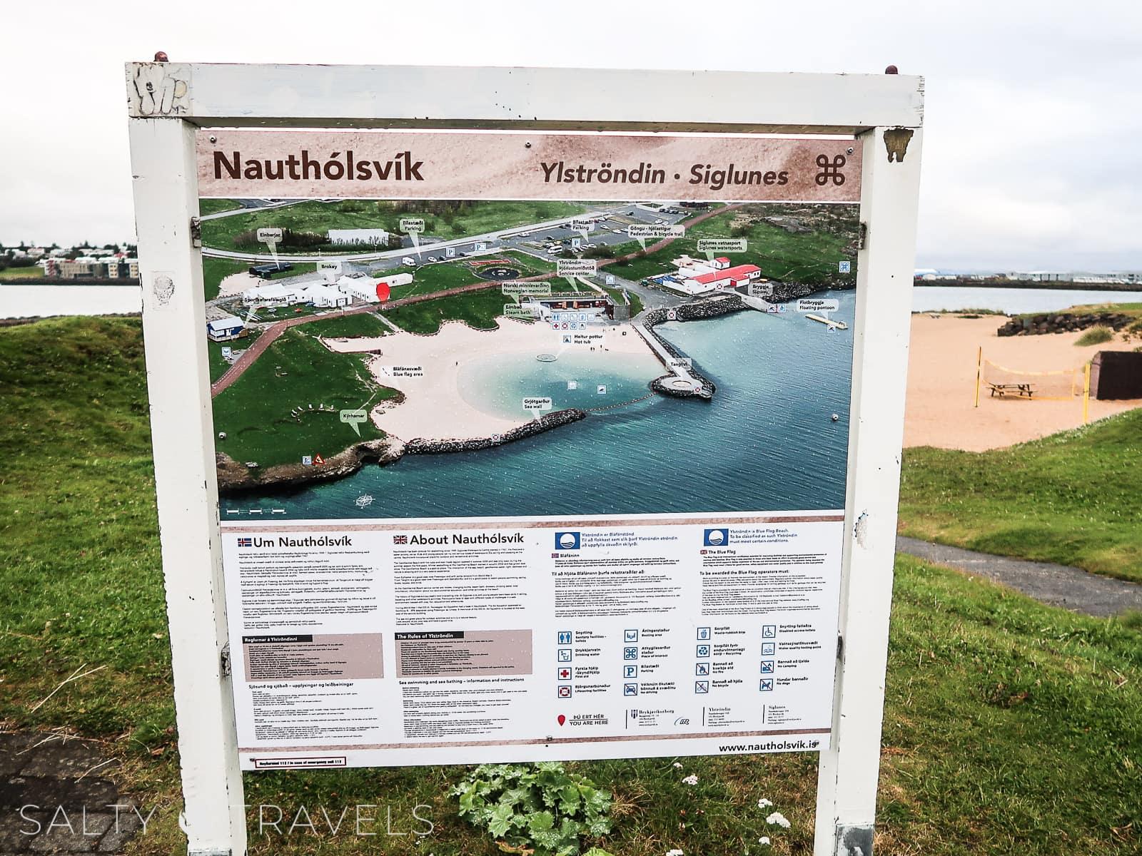zwiedzanie Reykjaviku - plaża NAUTHOLSVIK