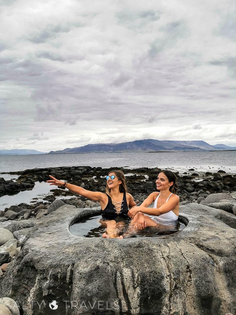 ciepłe źródło w Reykjaviku