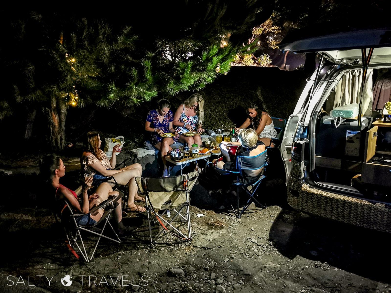 Babski trip kamperem w Hiszpanii z Surfcampers