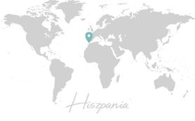 Salty Travels Mapa gdzie jestem Hiszpania