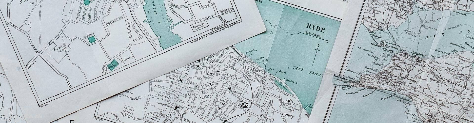 Mapy podróżnicze SaltyTravels
